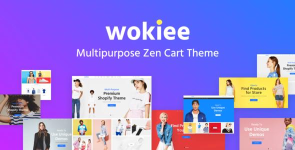 Wokiee - Multipurpose Zen Cart Template