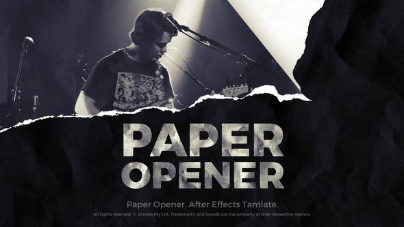 Paper Opener - Paper Slideshow