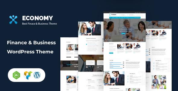 Economy - Finance & Business WordPress Theme