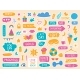 Daily Planner Stickers Cute Diary or Journal - GraphicRiver Item for Sale