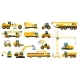 Construction Heavy Machinery Building Equipment - GraphicRiver Item for Sale