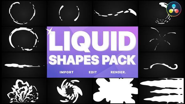 Liquid Shapes | DaVinci Resolve