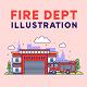 Fire Department Illustration - GraphicRiver Item for Sale
