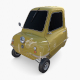 Generic 50cc Microcar with chassis - 3DOcean Item for Sale