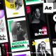Modern Instagram Stories - VideoHive Item for Sale