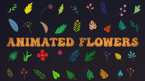 Animated Flowers || Premiere Pro MOGRT