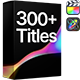 Titles Pro   Final Cut - VideoHive Item for Sale