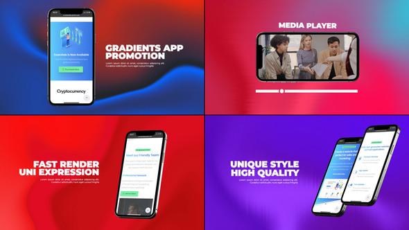 Gradients App Promo