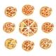 Pizza Slice Set - GraphicRiver Item for Sale