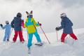Little skiers - PhotoDune Item for Sale