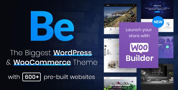 BeTheme - responsywny, uniwersalny motyw WordPress