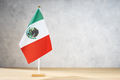 Mexico table flag with copy space - PhotoDune Item for Sale