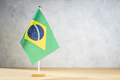 Brazil table flag with copy space - PhotoDune Item for Sale
