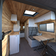 Fiat Ducato Camper Van Interior Design - 3DOcean Item for Sale