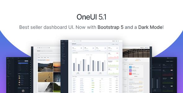 OneUI - Bootstrap 4 Admin Dashboard Template & Laravel 6 Starter Kit