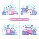 Digital Transaction Concept Illustration - GraphicRiver Item for Sale