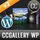 CCGallery WP - Multimedia Gallery Wordpress Plugin - CodeCanyon Item for Sale
