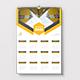 Wall Calendar 2022 - GraphicRiver Item for Sale