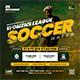 Soccer Event Flyer - GraphicRiver Item for Sale
