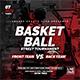 Basketball Street Tournament   Sport Flyer - GraphicRiver Item for Sale