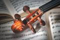 Detail of a violin handle - PhotoDune Item for Sale