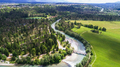 Aerial view of the river - PhotoDune Item for Sale