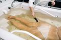 the procedure of underwater shower massage in the bathroom.Girl on the procedure of underwater - PhotoDune Item for Sale