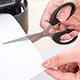 Scissors Cutting Paper