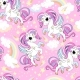 Vector Seamless Pattern with Little Magic Unicorns - GraphicRiver Item for Sale