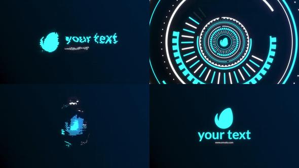 Digital Glitch Logo || FCPX