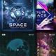 Space Sound Music Cover Album Artwork Templates Bundle - GraphicRiver Item for Sale