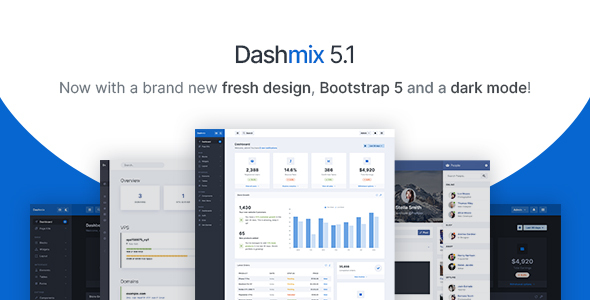 Dashmix - Bootstrap 4 Admin Dashboard Template & Laravel 6 Starter Kit