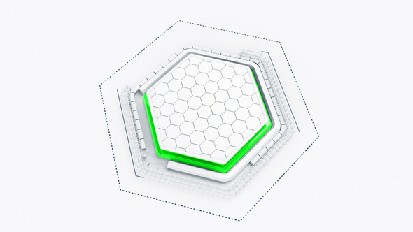 Tech Hexagon Logo