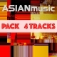 Asian Thailand Pack 4 - AudioJungle Item for Sale