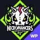 Necromancers - eSports & Gaming Team WordPress Theme - ThemeForest Item for Sale
