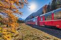 Bernina Swiss red train - PhotoDune Item for Sale