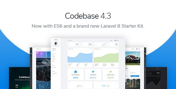 Codebase - Bootstrap 4 Admin Dashboard Template & Laravel 6 Starter Kit