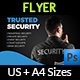 Security Services Flyer Template - GraphicRiver Item for Sale