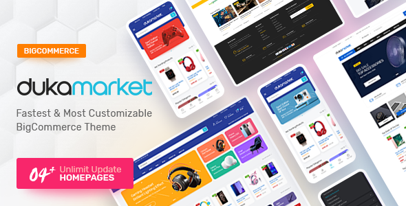 Dukamarket - Multipurpose Responsive Bigcommerce Theme