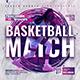 Basketball Match | Sport Flyer - GraphicRiver Item for Sale