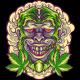 Monkey Marijuana Head - GraphicRiver Item for Sale