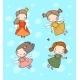 Cute Cartoon Fairies and Princesses - GraphicRiver Item for Sale