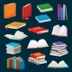 Cartoon Books Bestsellers or School Textbooks - GraphicRiver Item for Sale