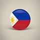 Philippines Badge - 3DOcean Item for Sale