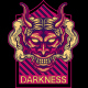 Darkness Oni Mask - GraphicRiver Item for Sale