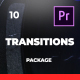 Clean and Creative Transitions For Premiere Pro - VideoHive Item for Sale