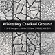 White Dry Cracked Ground - GraphicRiver Item for Sale