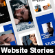 Website Promo Stories Pack - VideoHive Item for Sale