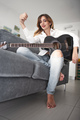 Handed woman with acoustic guitar - PhotoDune Item for Sale