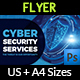 Cyber Security Services Flyer Template - GraphicRiver Item for Sale